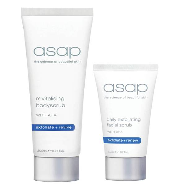 asap Face and Body Exfoliation Set