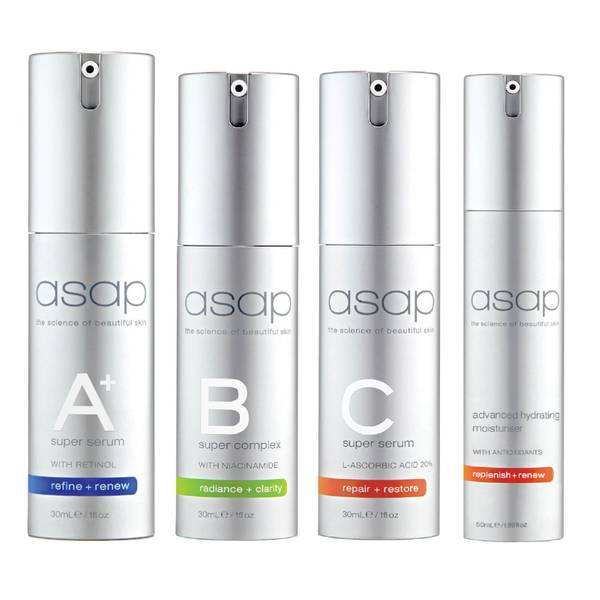 asap Antioxidant Booster Facial Bundle