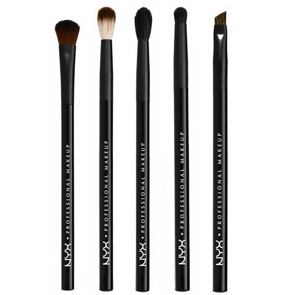 NYX Professional Makeup Brush Set for Eyes