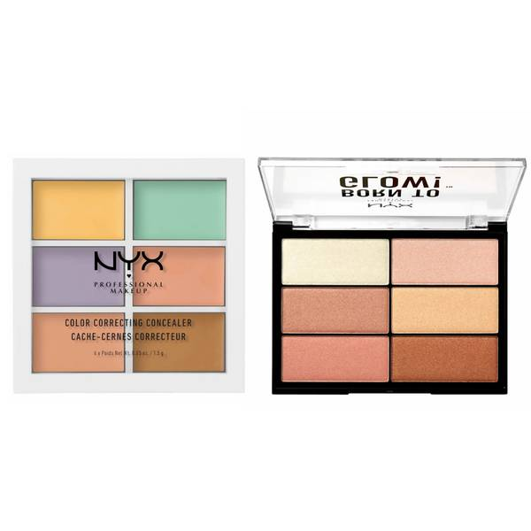 NYX Professional Makeup Correct, Sculpt and Highlight Set