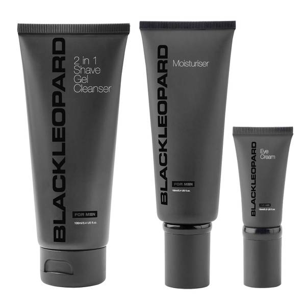Black Leopard No-Fuss Skincare Routine Set