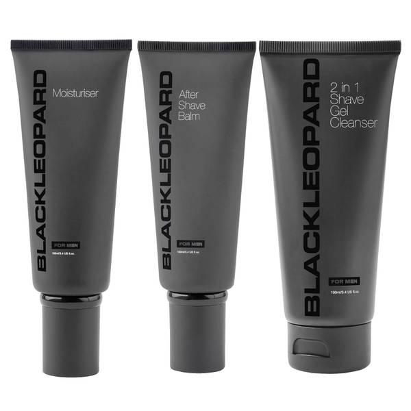 Black Leopard Shaving Set