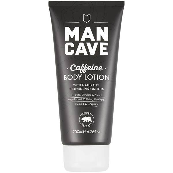 ManCave Caffeine Body Lotion 200ml
