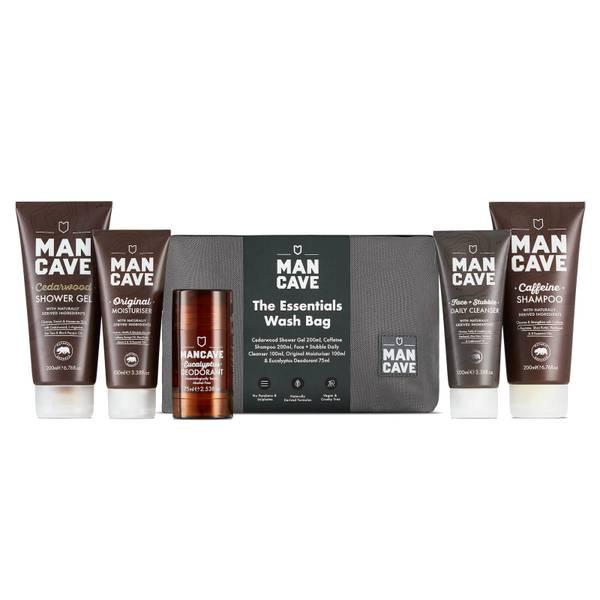 ManCave Essentials Wash Bag
