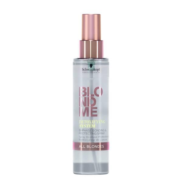 Schwarzkopf Blondme Detoxifying System Bi-Phase Bonding and Protecting Spray 150ml