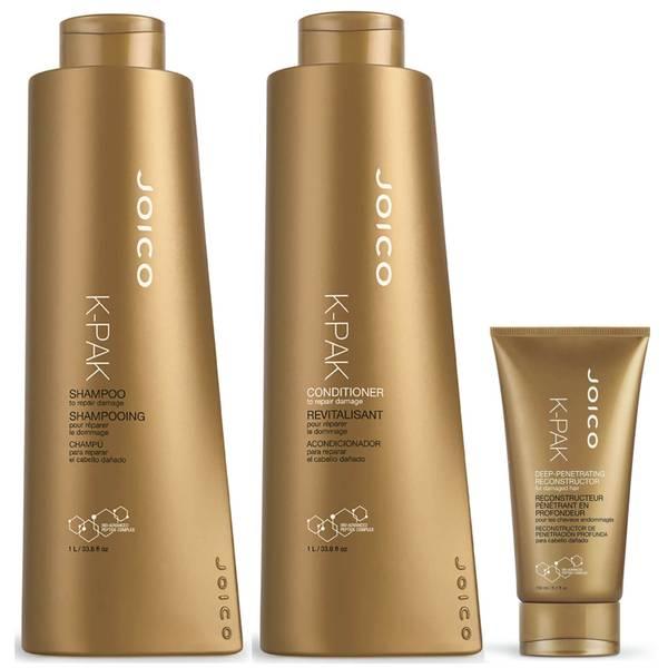 Joico K-Pak Shampoo, Conditioner and Hydrator Supersize Set