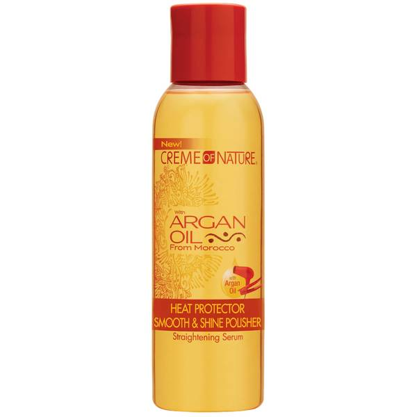 Crème of Nature Argan Oil Heat Protector Smooth & Shine Polisher 114ml