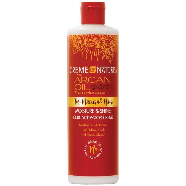 Crème of Nature Argan Oil Moisture and Shine Curl Activator Créme 354ml