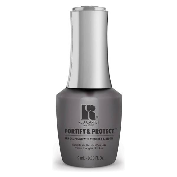 Red Carpet Manicure LED Fortify and Protect Fashionably French Gel Polish 9ml