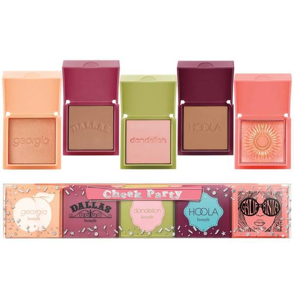 benefit Cheek Party Mini Blush and Bronzer Gift Set (Worth £72.50)