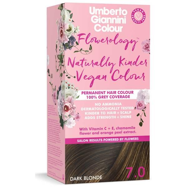 Umberto Giannini Flowerology Naturally Kinder Colour - Dark Blonde 7.0 195ml
