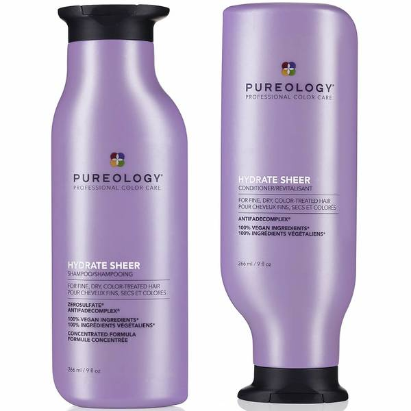Pureology Hydrate Sheer Shampoo and Conditioner Duo 2 x 266ml