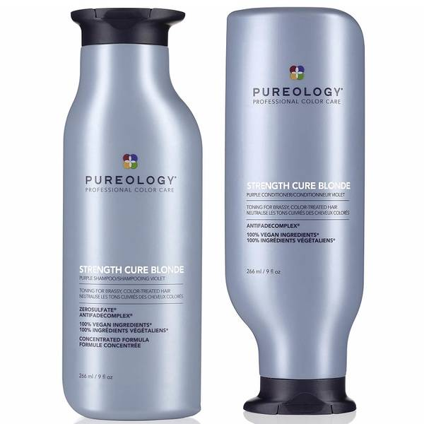 Pureology Strength Cure Blonde Shampoo and Conditioner Duo 2 x 266ml