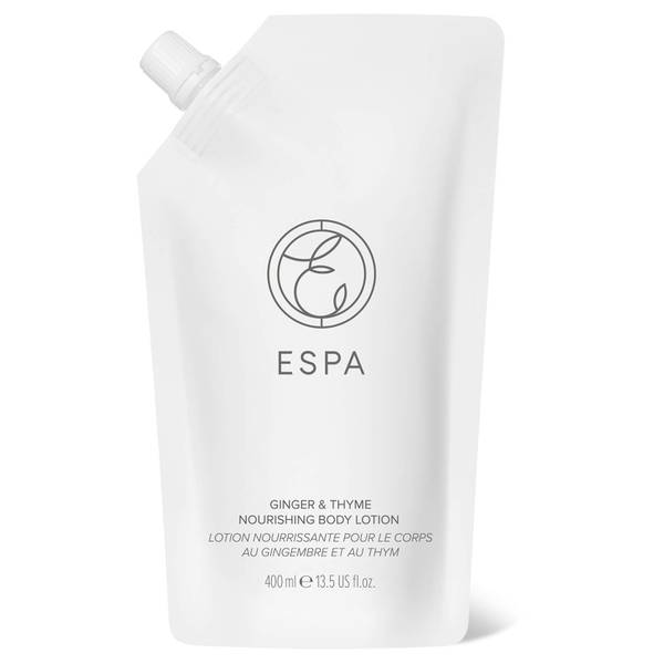 ESPA Essentials Nourishing Body Lotion 400ml - Ginger and Thyme