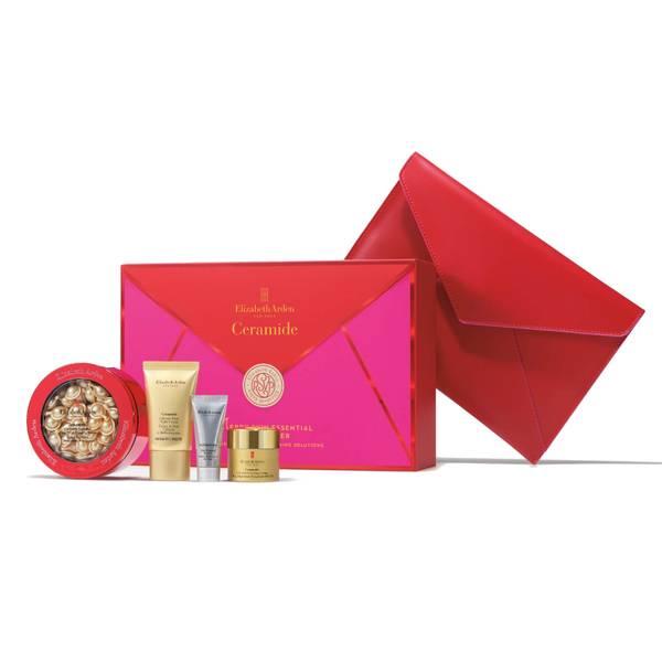Elizabeth Arden Advanced Ceramide Capsules Serum, 60 Count, 4 Piece Skin Care Gift Set - Worth $142.00