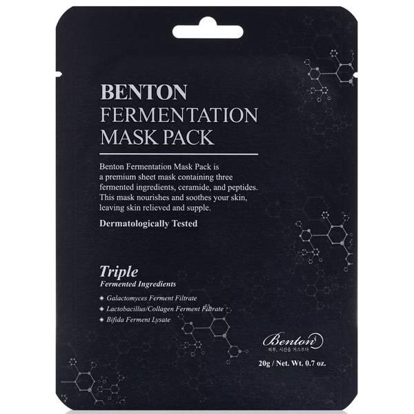 Benton Fermentation Mask Pack (Pack of 10)