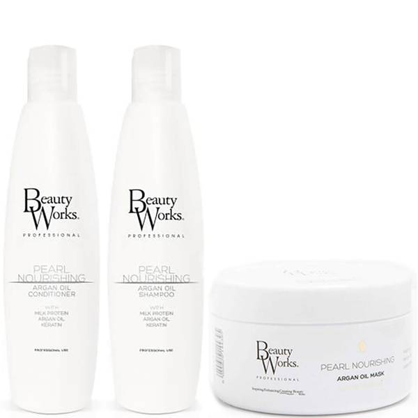 Beauty Works Pearl Nourishing Smoothing Trio