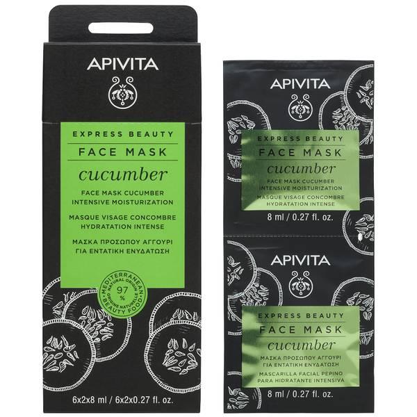 APIVITA Express Beauty Face Mask with Cucumber 12 x 0.27 fl.oz