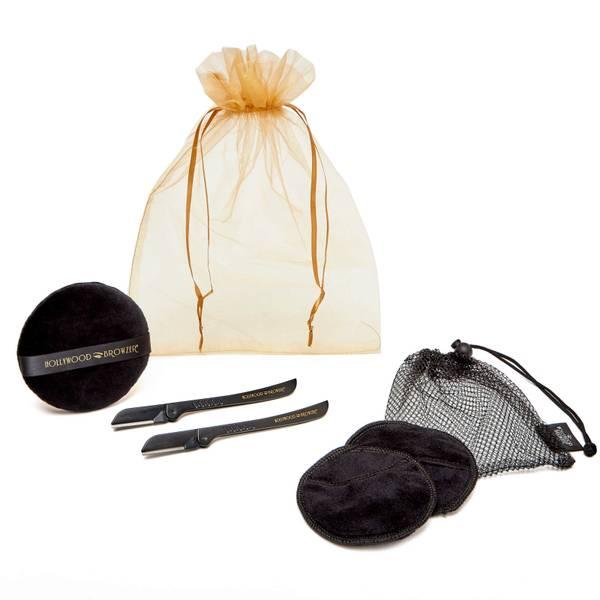 Hollywood Browzer Dermaplaning Facial Kit Duo - Black