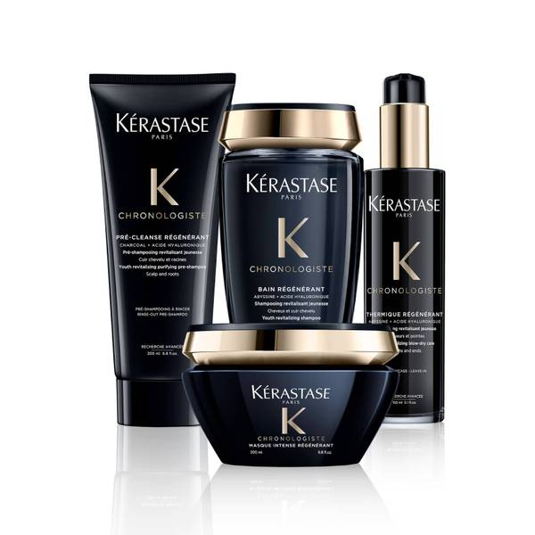 Kérastase Chronologiste Youth Revitalising Hair Care Routine