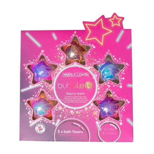 Bubble T Cosmetics Starry Bath Fizzer Collection