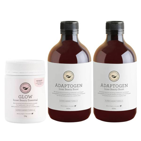 The Beauty Chef Glow and Adaptogen Bundle (Worth $155.00)