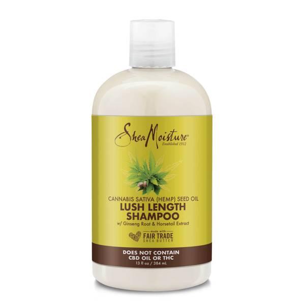 SheaMoisture Cannabis Sativa (Hemp) Seed Oil Lush Length Shampoo 384ml