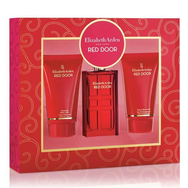 Elizabeth Arden Red Door Fragrance, Body Lotion and Shower Gel Gift Set