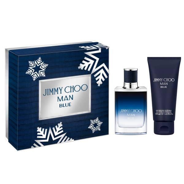 Jimmy Choo Man Blue Eau de Toilette and Shower Gel Set (Worth £59.00)