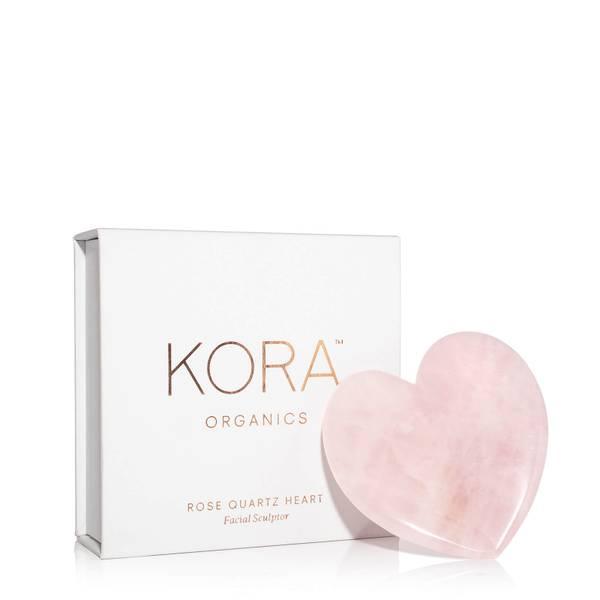 Kora Organics Rose Quartz Heart Facial Sculptor 6g