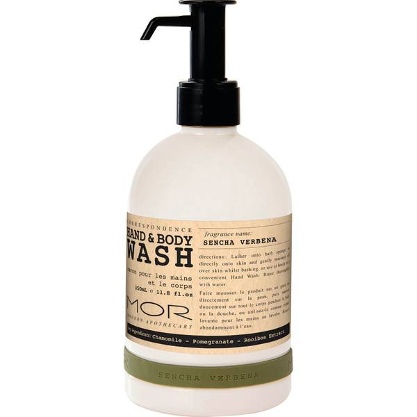 MOR Hand and Body Wash Sencha Verbena 350ml