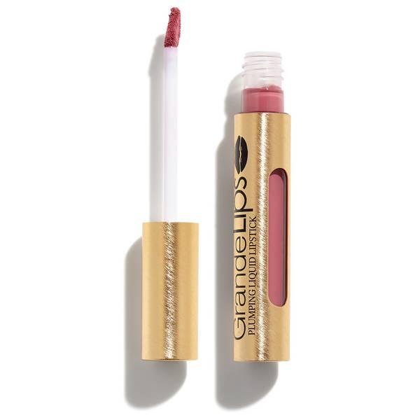GRANDE Cosmetics GrandeLIPS Plumping Liquid Lipstick Semi-Matte - Vintage Rose