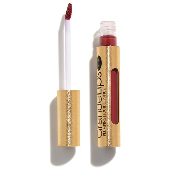 GRANDE Cosmetics GrandeLIPS Plumping Liquid Lipstick Semi-Matte - Smoked Sherry