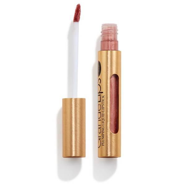 GRANDE Cosmetics GrandeLIPS Plumping Liquid Lipstick Metallic Semi-Matte - Rosé Blush
