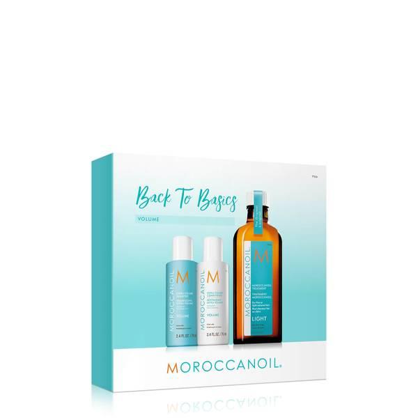 Moroccanoil Treatment Light 100ml with FREE Extra Volume Shampoo & Conditioner 70ml (Worth £47.50)