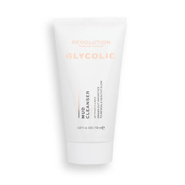 Revolution Skincare Glycolic Acid Glow Mud Cleanser 150ml