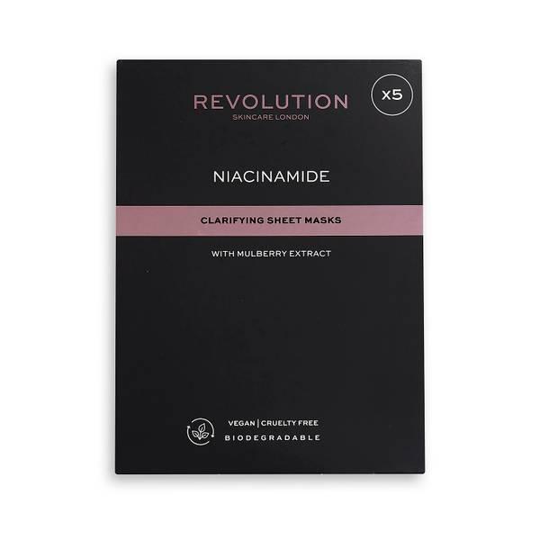 Revolution Skincare Biodegradable Clarifying Niacinamide Sheet Mask