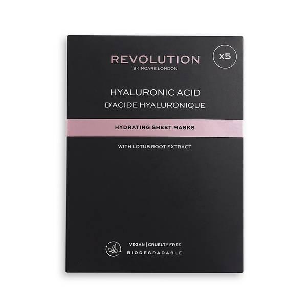 Revolution Skincare Biodegradable Hydrating Hyaluronic Acid Sheet Mask