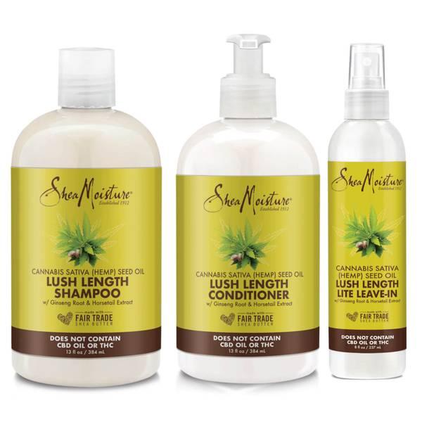 SheaMoisture Hemp Seed Oil Lush Hair Set