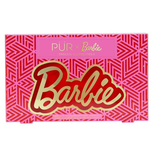 PÜR X Barbie Endless Possibilities II Signature 15-Piece Eyeshadow Palette 16g