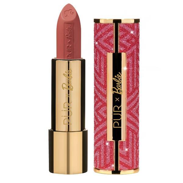 PÜR X Barbie Iconic Lips in Innovator Signature Semi-Matte Lipstick 3.8g