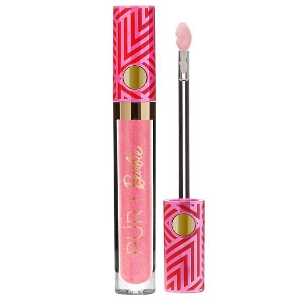 PÜR X Barbie Gloss Signature High-Shine Lip Gloss - Boss Gloss 3.3ml