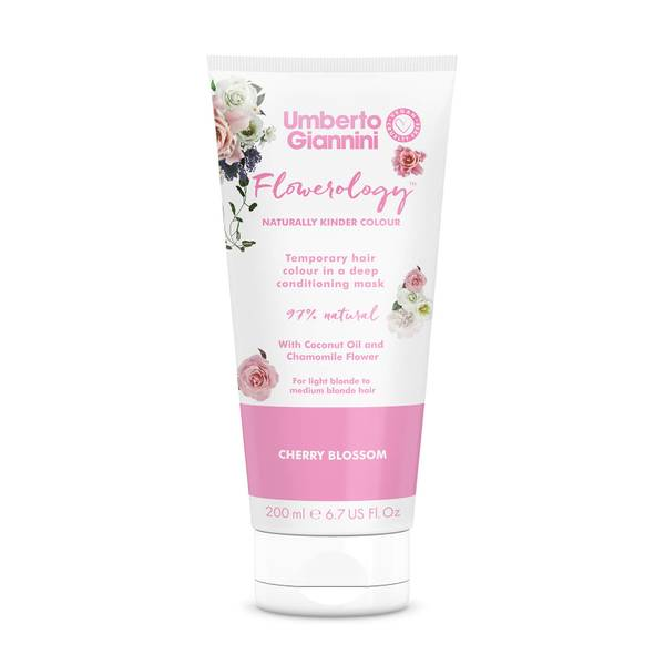Umberto Giannini Flowerology Colour Mask - Cherry Blossom 195ml