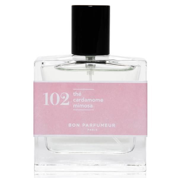 Bon Parfumeur 102 Tea Cardamom Mimosa Eau de Parfum (Various Sizes)