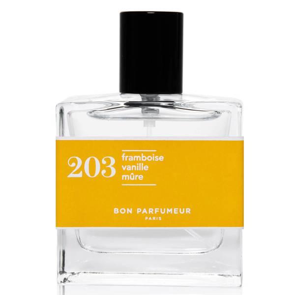 Bon Parfumeur 203 Raspberry Vanilla Blackberry Eau de Parfum (Various Sizes)