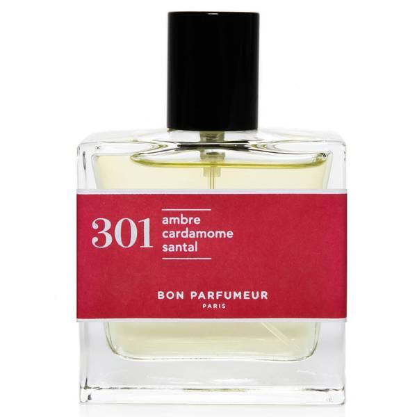 Bon Parfumeur 301 Sandalwood Amber Cardamom Eau de Parfum (Various Sizes)