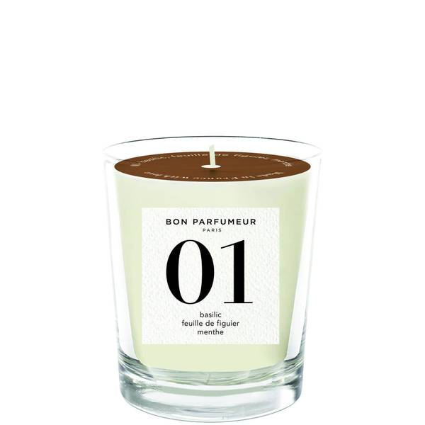 Bon Parfumeur 01 Basil Fig Leaf Mint Candle 180g