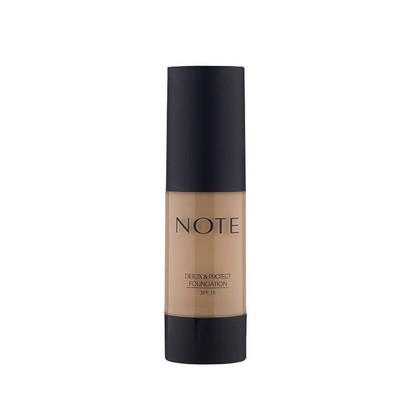 Note Cosmetics Detox and Protect Foundation 35ml - 05 Honey Beige