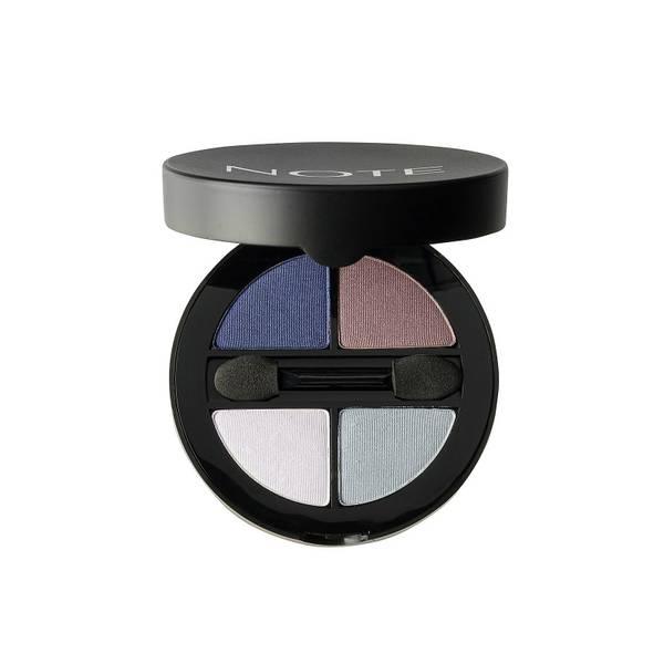 Note Cosmetics Luminous Silk Quattro Eye Shadow - SQE-6