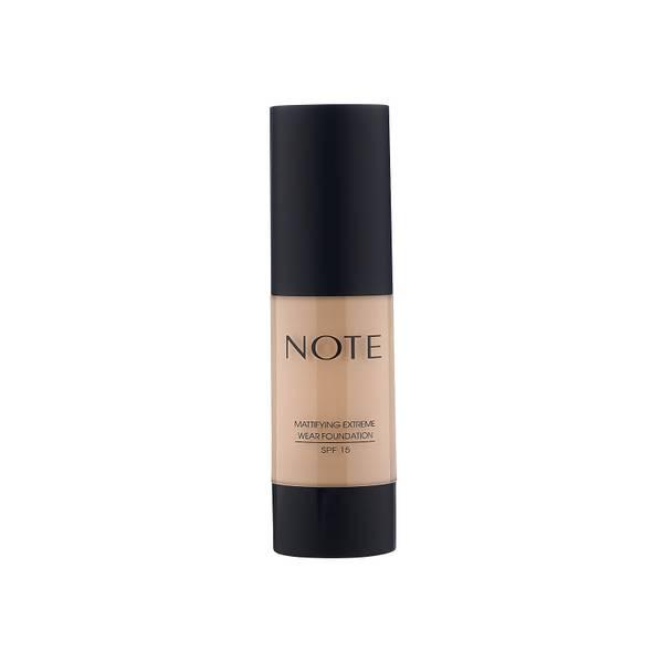Note Cosmetics Mattifying Extreme Wear Foundation 35ml (Various Shades)